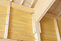 Holzbau Hallenkonstruktion